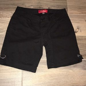 Black Guess Shorts